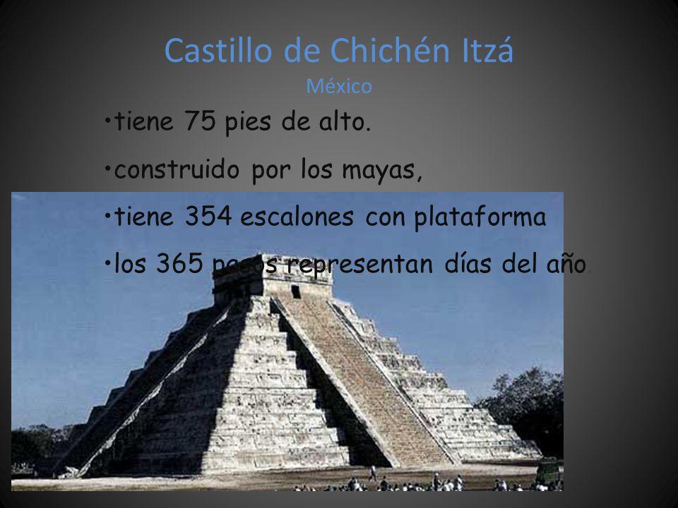 Castillo de Chichén Itzá México
