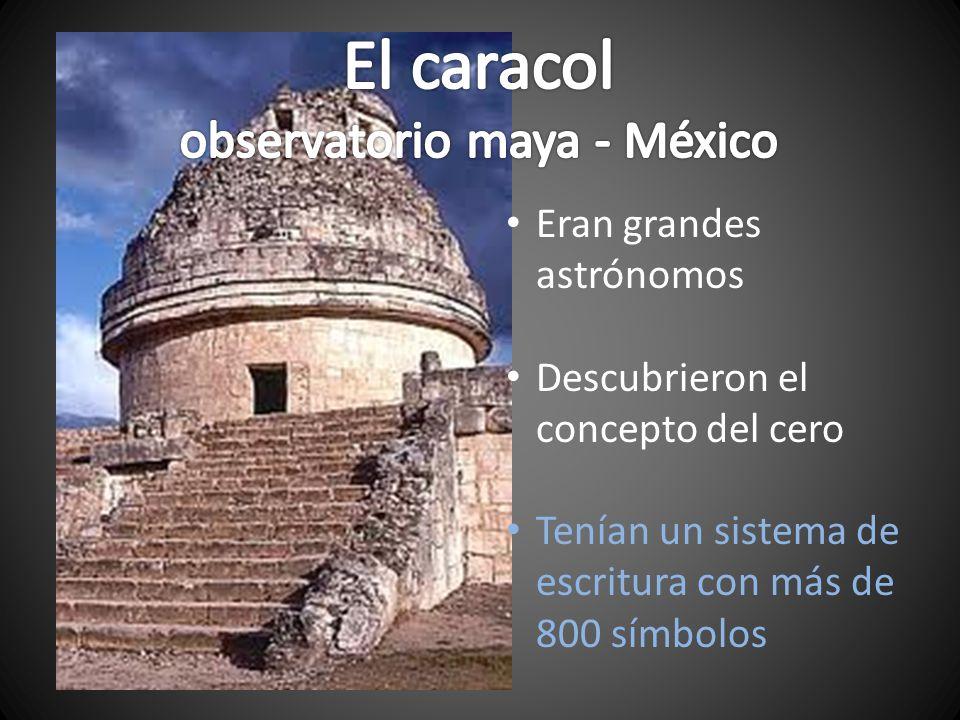 observatorio maya - México