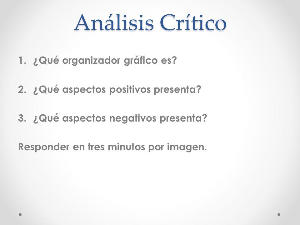 Análisis Crítico ¿Qué organizador gráfico es