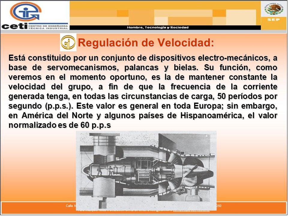 Regulación de Velocidad: