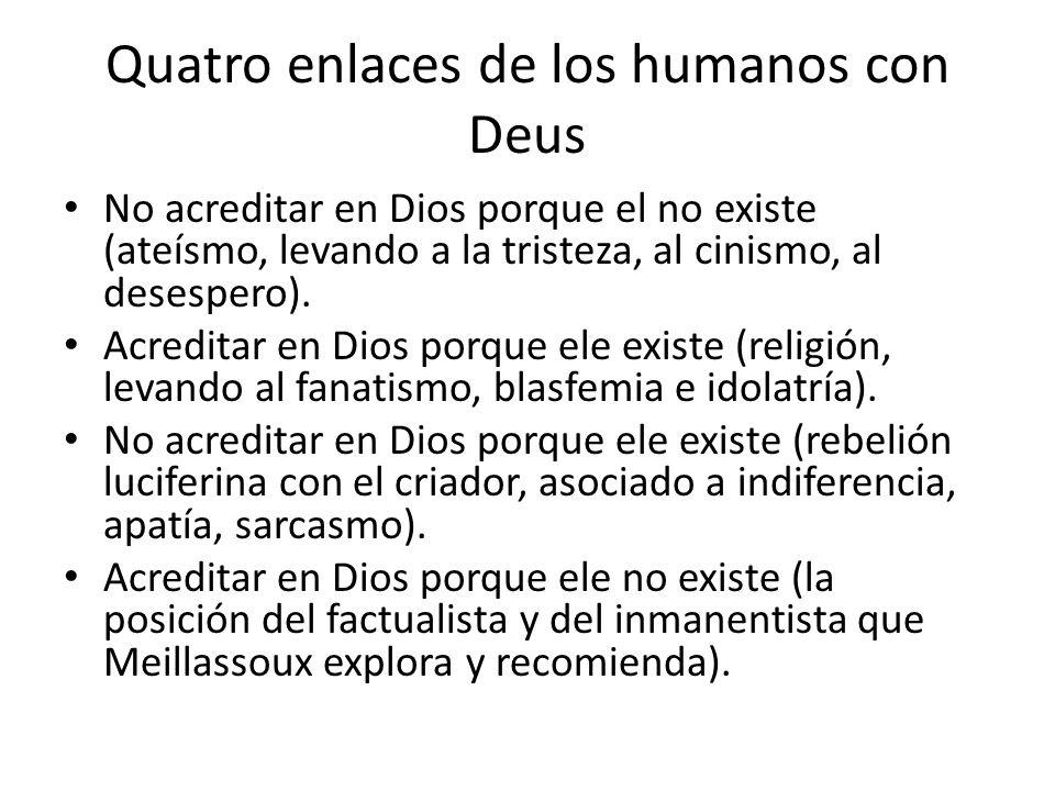 Quatro enlaces de los humanos con Deus