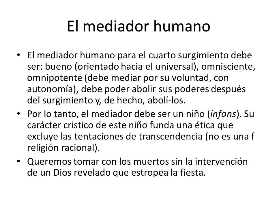El mediador humano
