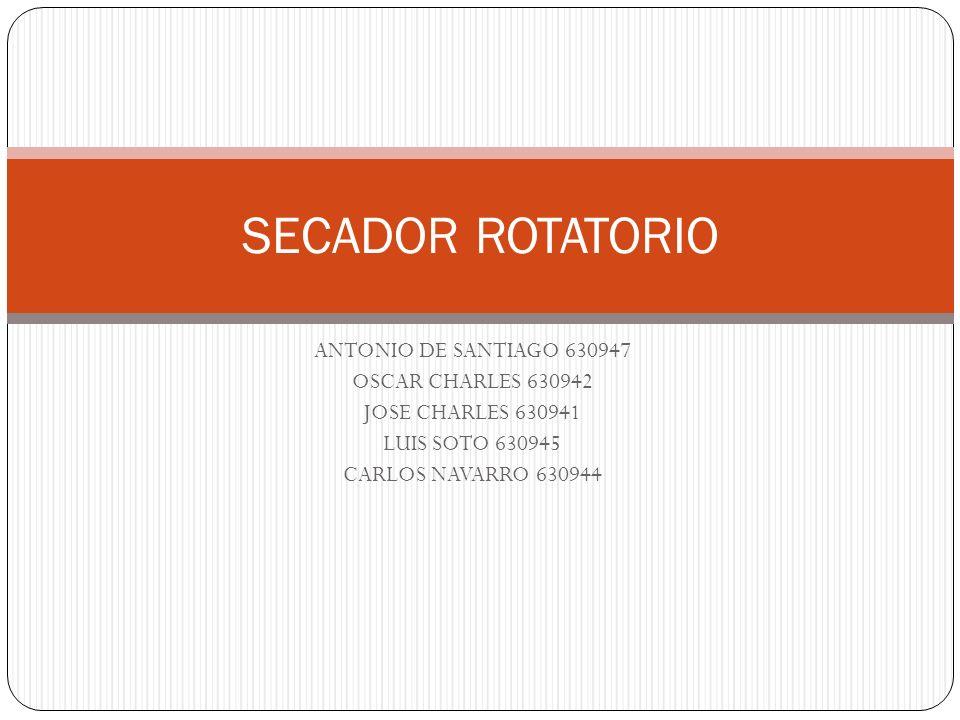 SECADOR ROTATORIO ANTONIO DE SANTIAGO 630947 OSCAR CHARLES 630942