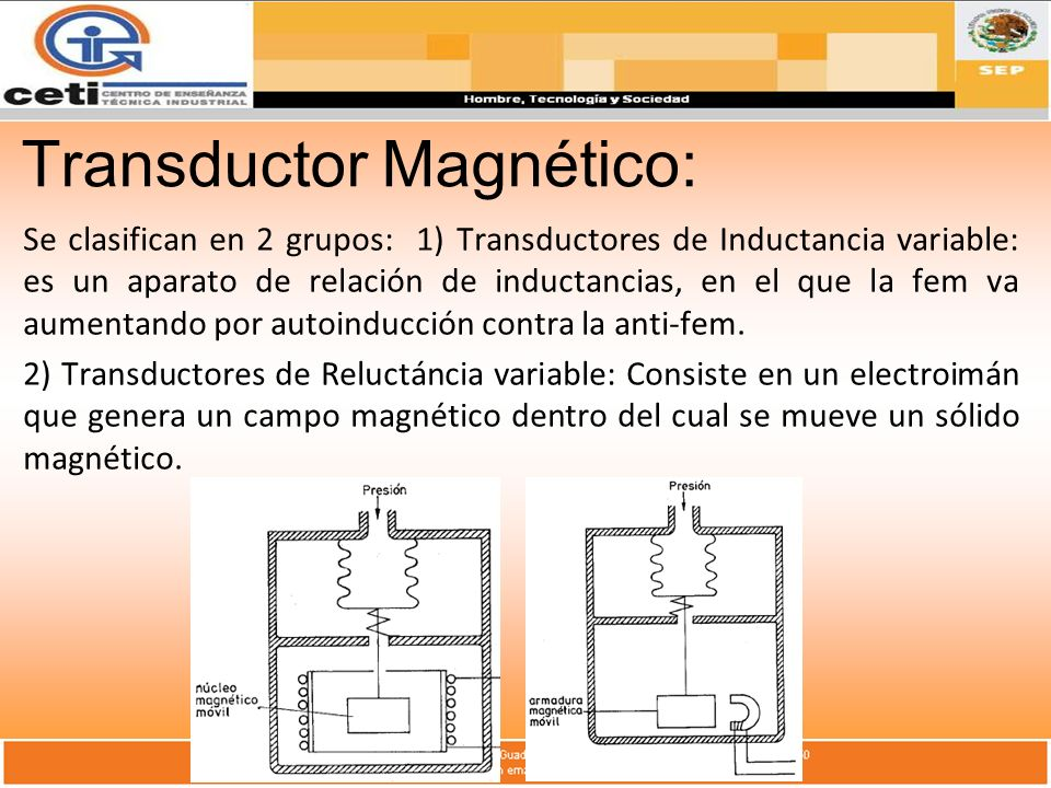 Transductor Magnético: