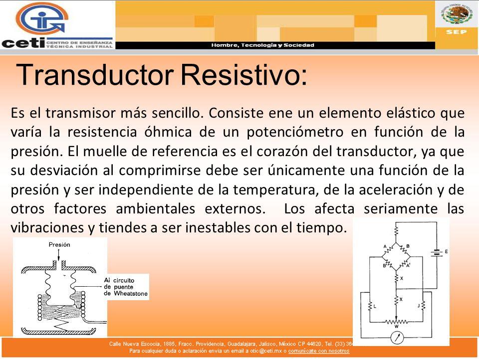 Transductor Resistivo: