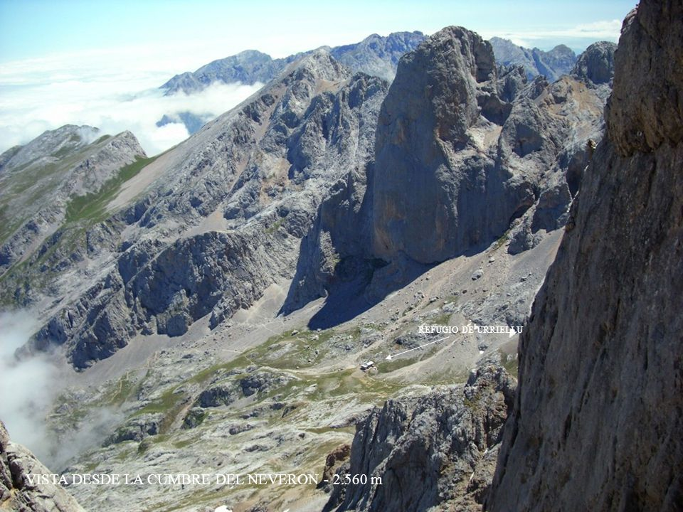 VISTA DESDE LA CUMBRE DEL NEVERON - 2.560 m
