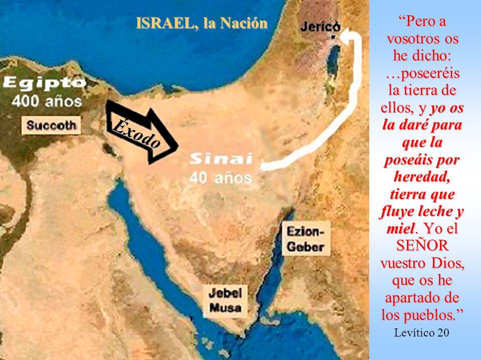 ISRAEL, la Nación Éxodo.