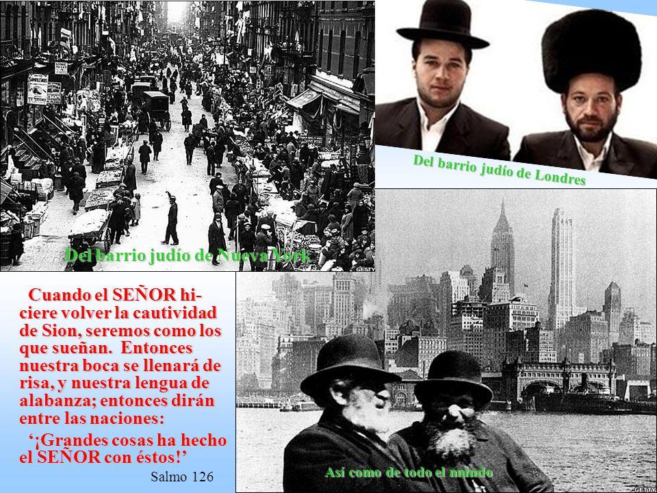Del barrio judío de Nueva York
