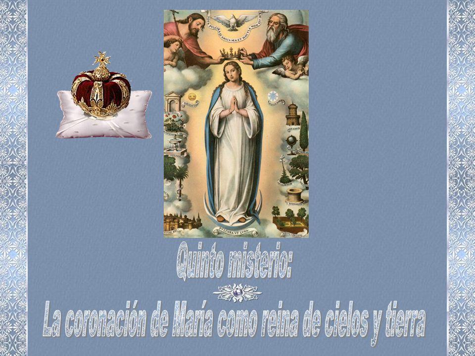 La coronación de María como reina de cielos y tierra
