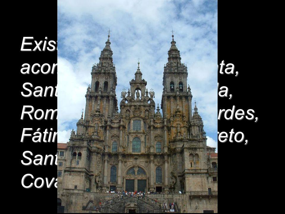 Existe una guía que te acompaña a Tierra Santa, Santiago de Compostela, Roma, el Vaticano, Lourdes, Fátima, Montserrat, Loreto, Santuario del Pilar,