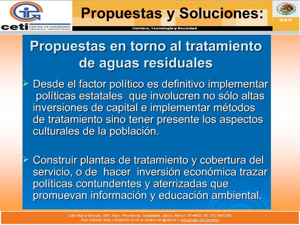 Propuestas y Soluciones: