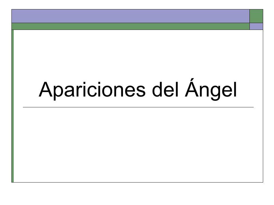 Apariciones del Ángel