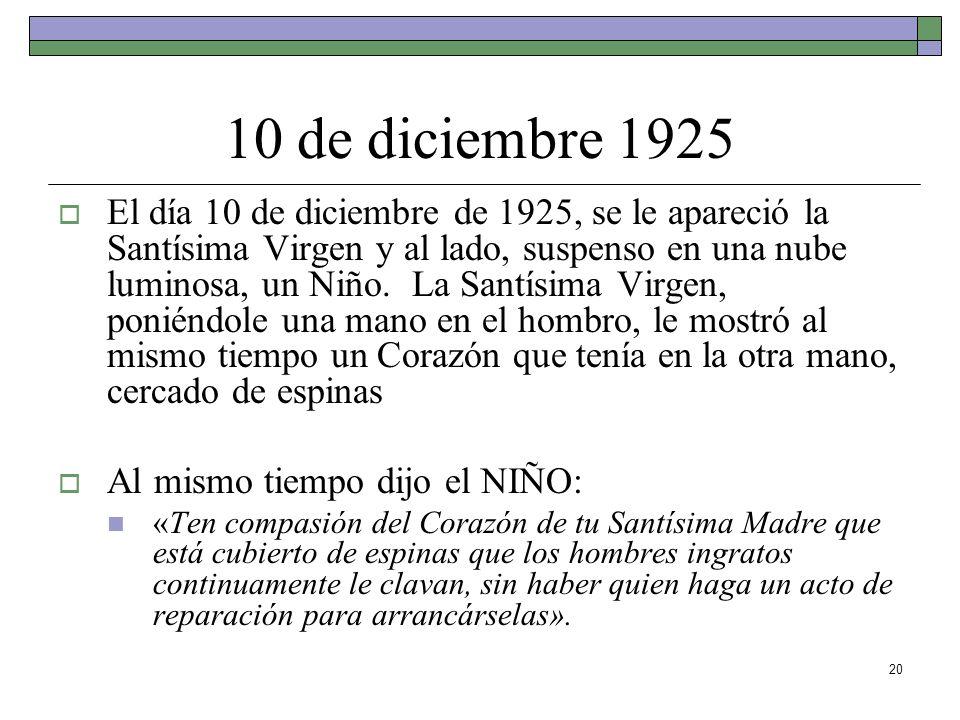 10 de diciembre 1925