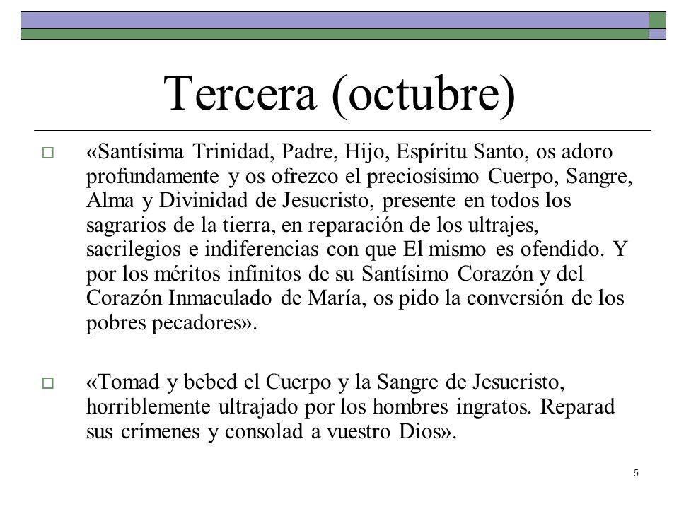 Tercera (octubre)