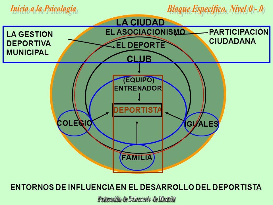 LA CIUDAD CLUB EL ASOCIACIONISMO PARTICIPACIÓN CIUDADANA LA GESTION