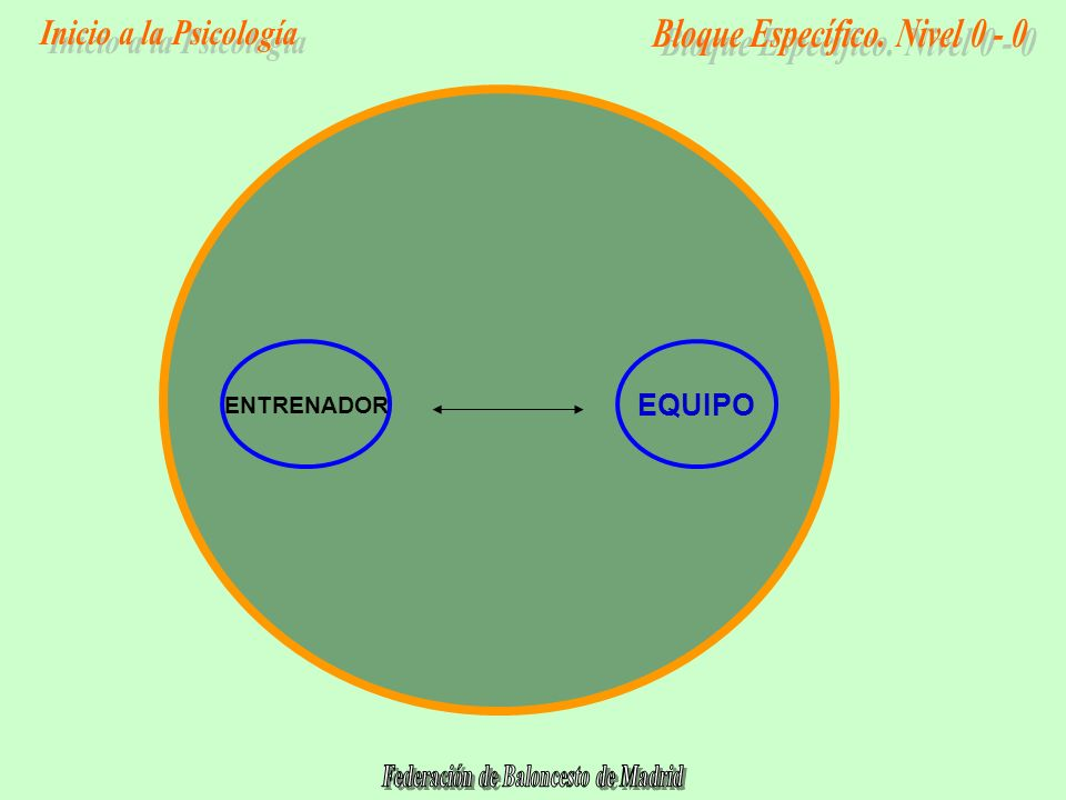 ENTRENADOR EQUIPO