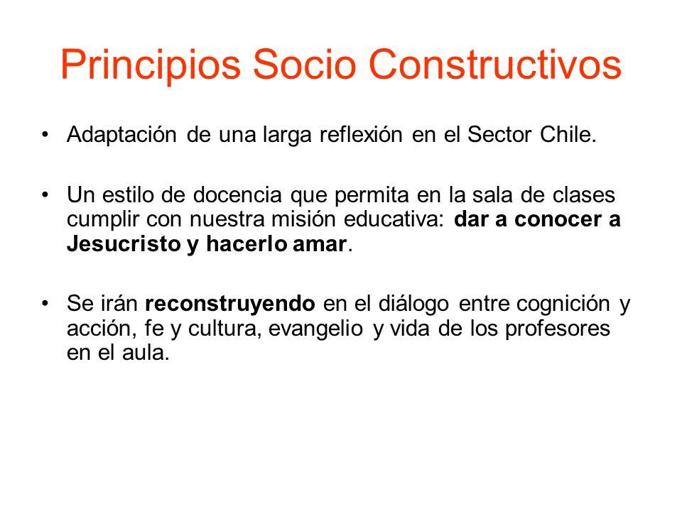Principios Socio Constructivos