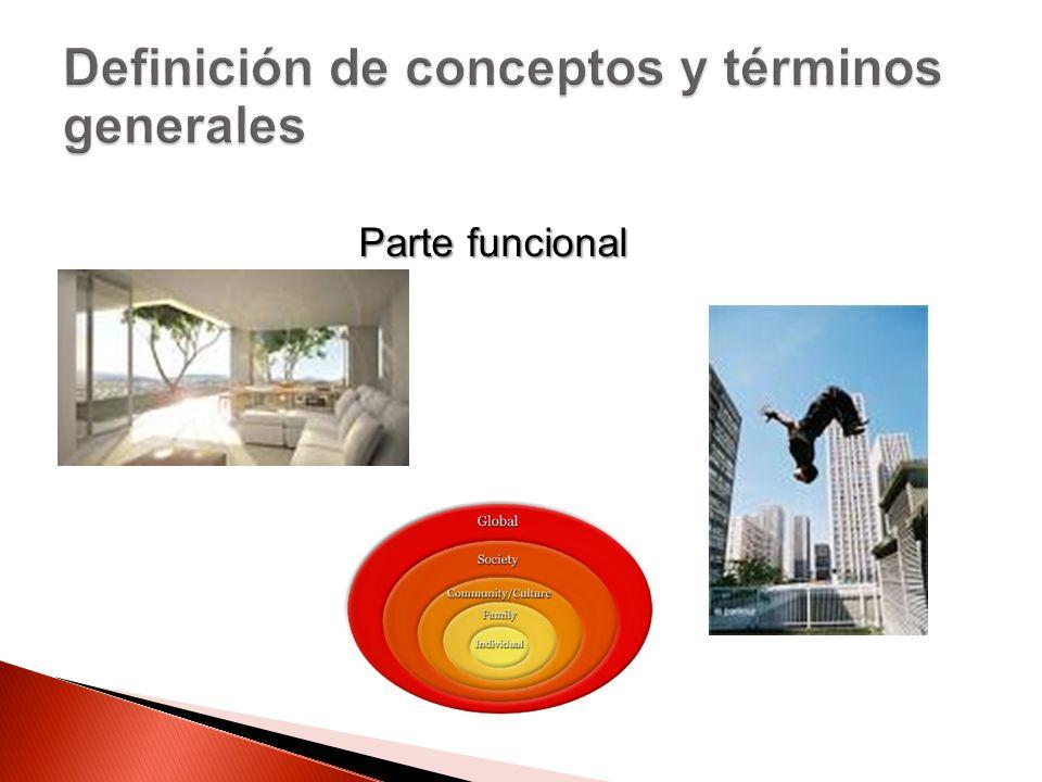 Definición de conceptos y términos generales