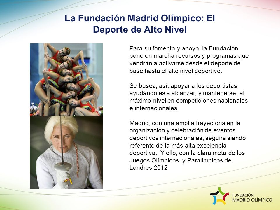 La Fundación Madrid Olímpico: El Deporte de Alto Nivel