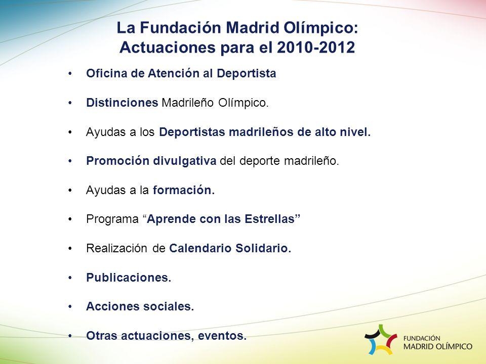 La Fundación Madrid Olímpico: