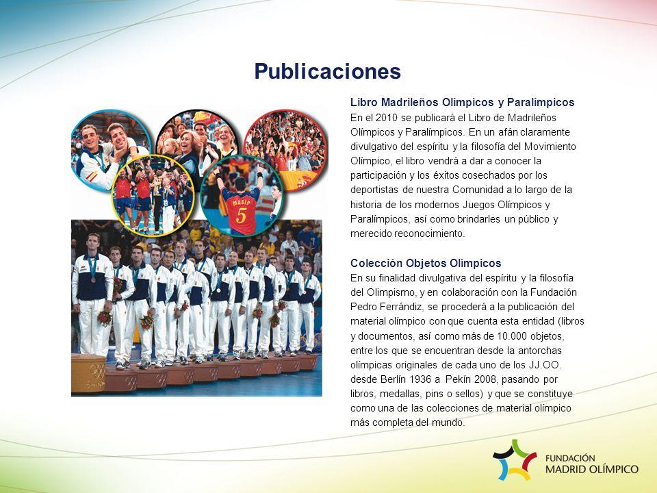 Publicaciones Libro Madrileños Olímpicos y Paralímpicos
