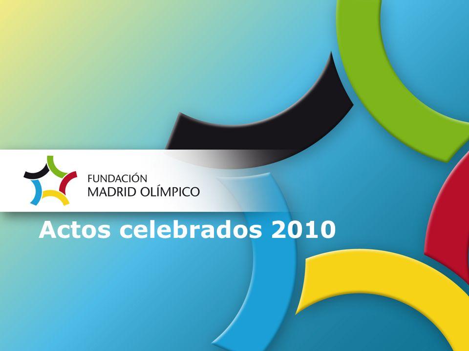 Actos celebrados 2010