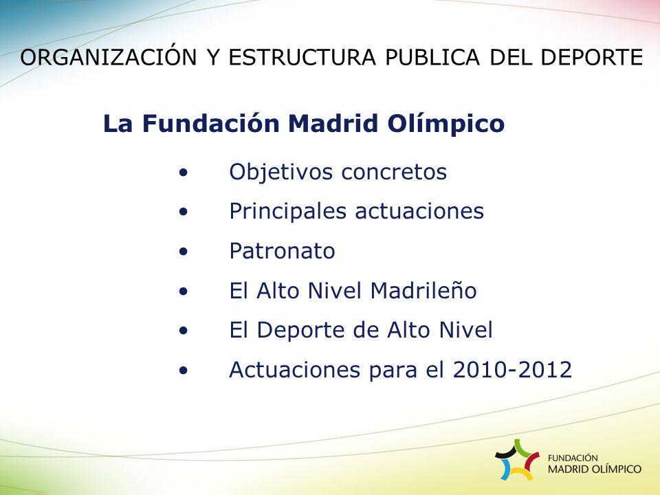 La Fundación Madrid Olímpico