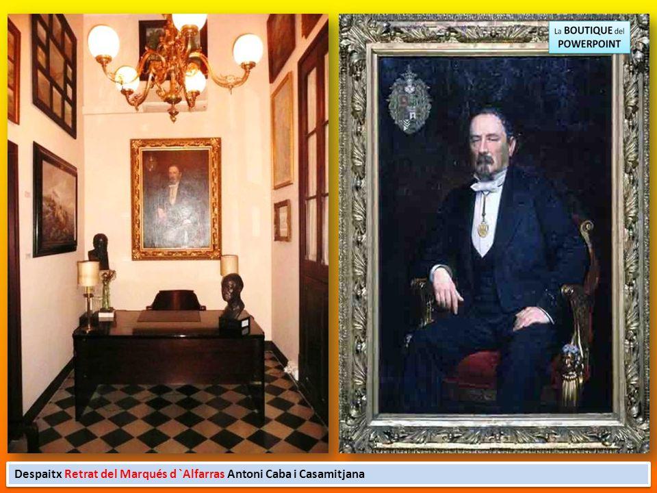 Despaitx Retrat del Marqués d `Alfarras Antoni Caba i Casamitjana