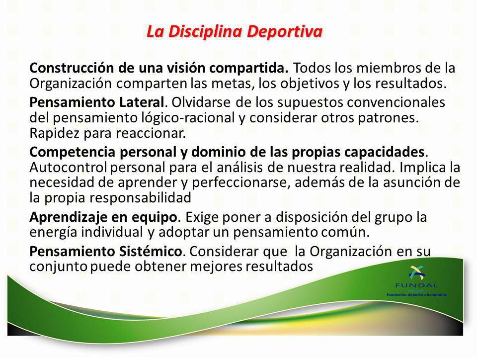 La Disciplina Deportiva