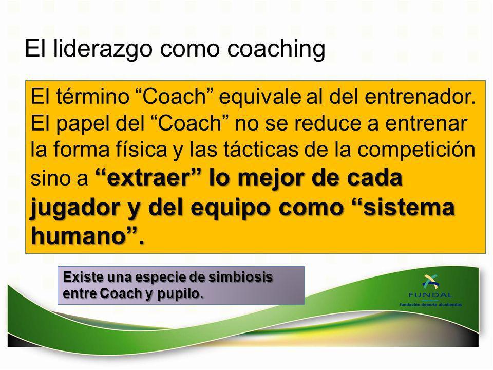 El liderazgo como coaching
