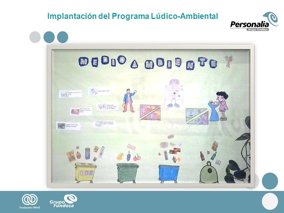 Implantación del Programa Lúdico-Ambiental