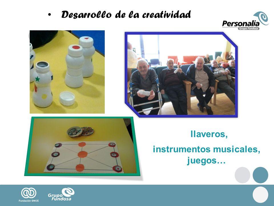 instrumentos musicales, juegos…