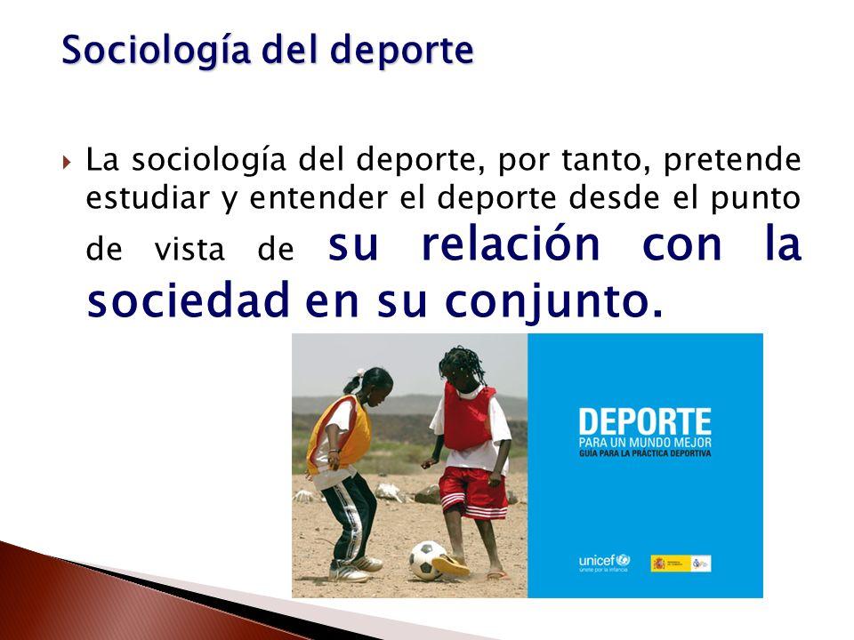 Sociología del deporte