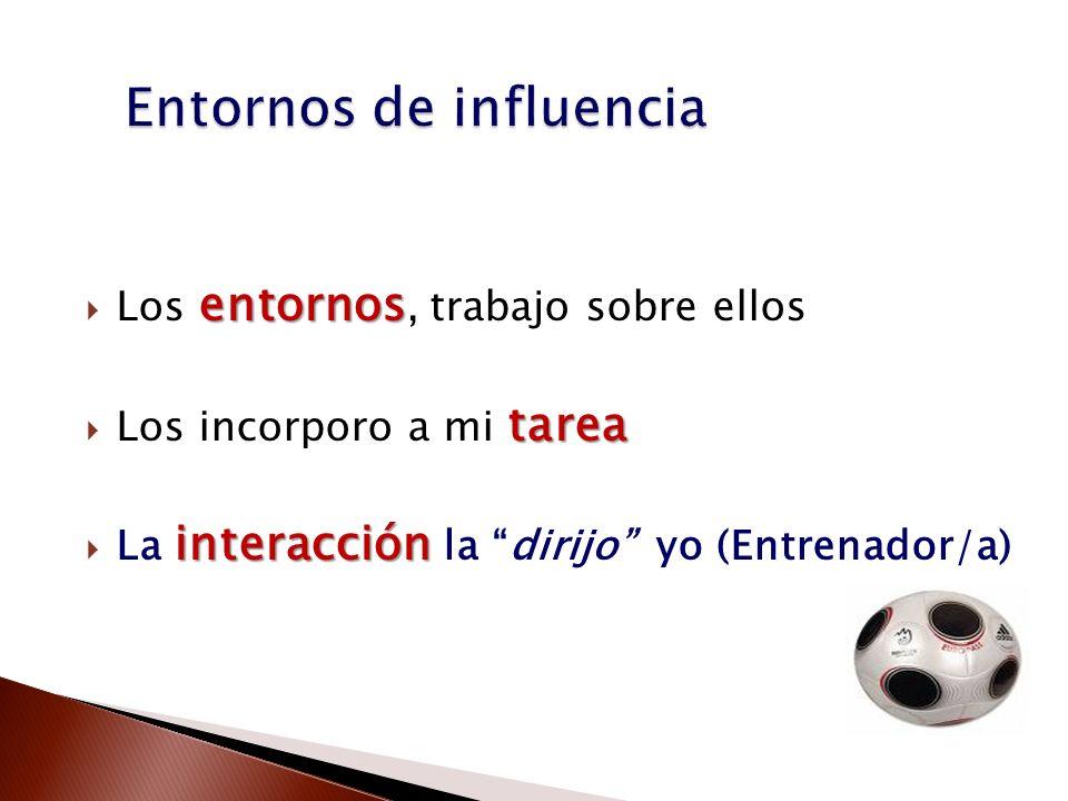 Entornos de influencia
