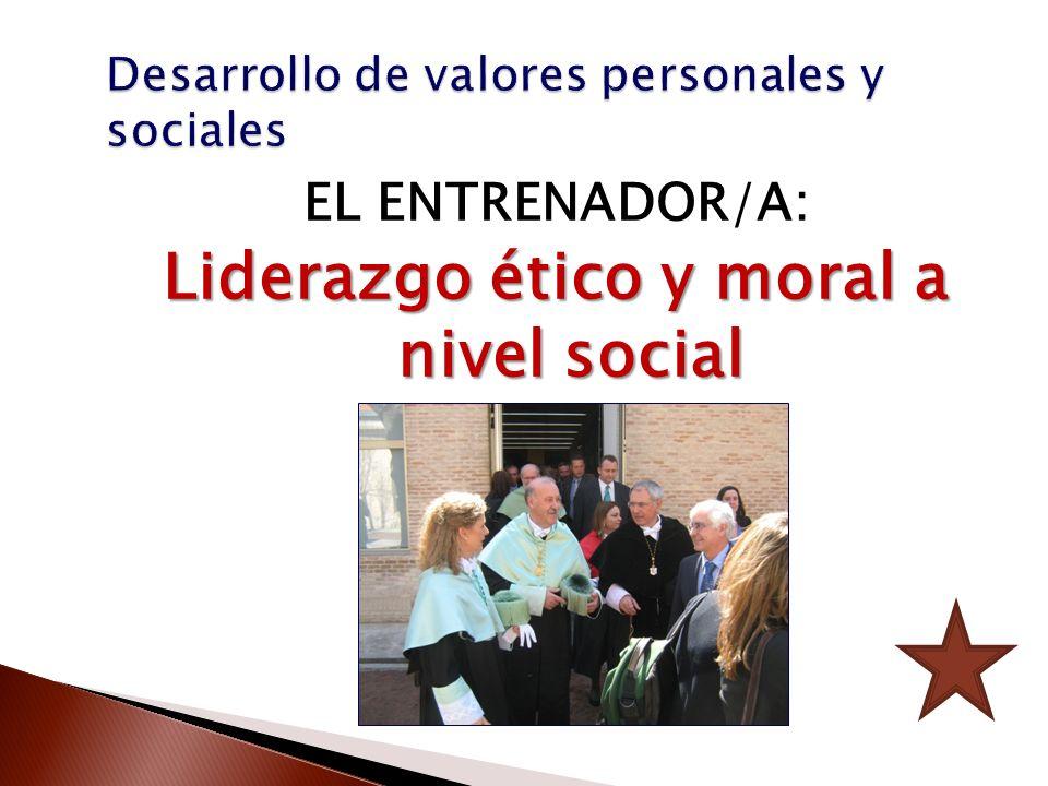 Desarrollo de valores personales y sociales