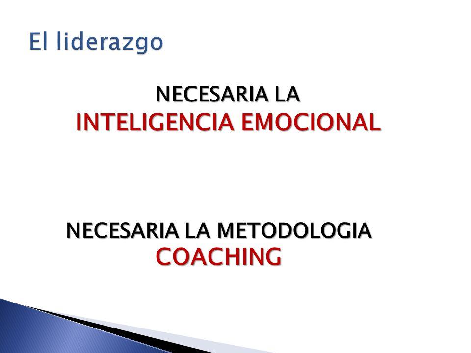 INTELIGENCIA EMOCIONAL NECESARIA LA METODOLOGIA COACHING