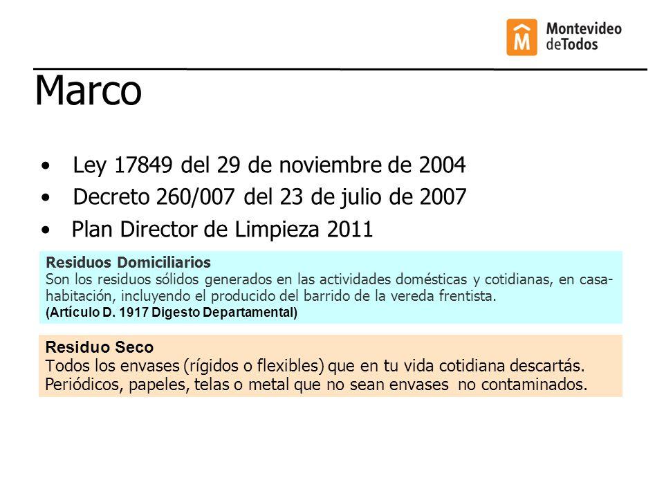 Marco Ley 17849 del 29 de noviembre de 2004