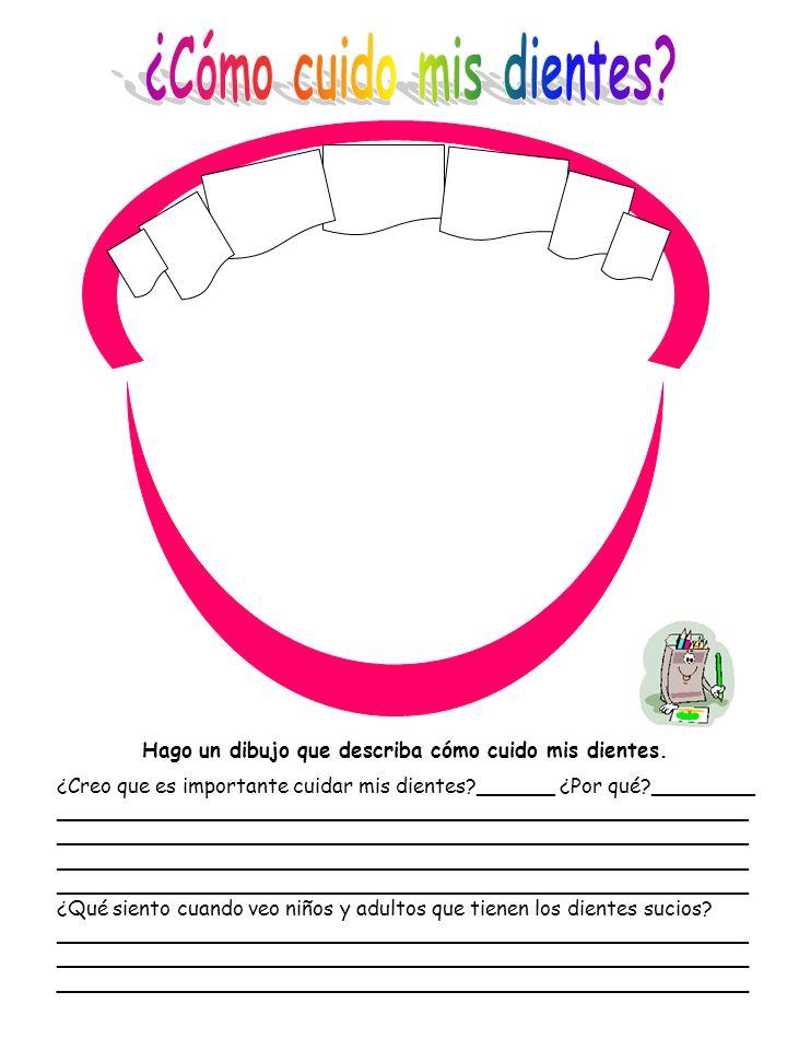 ¿Cómo cuido mis dientes
