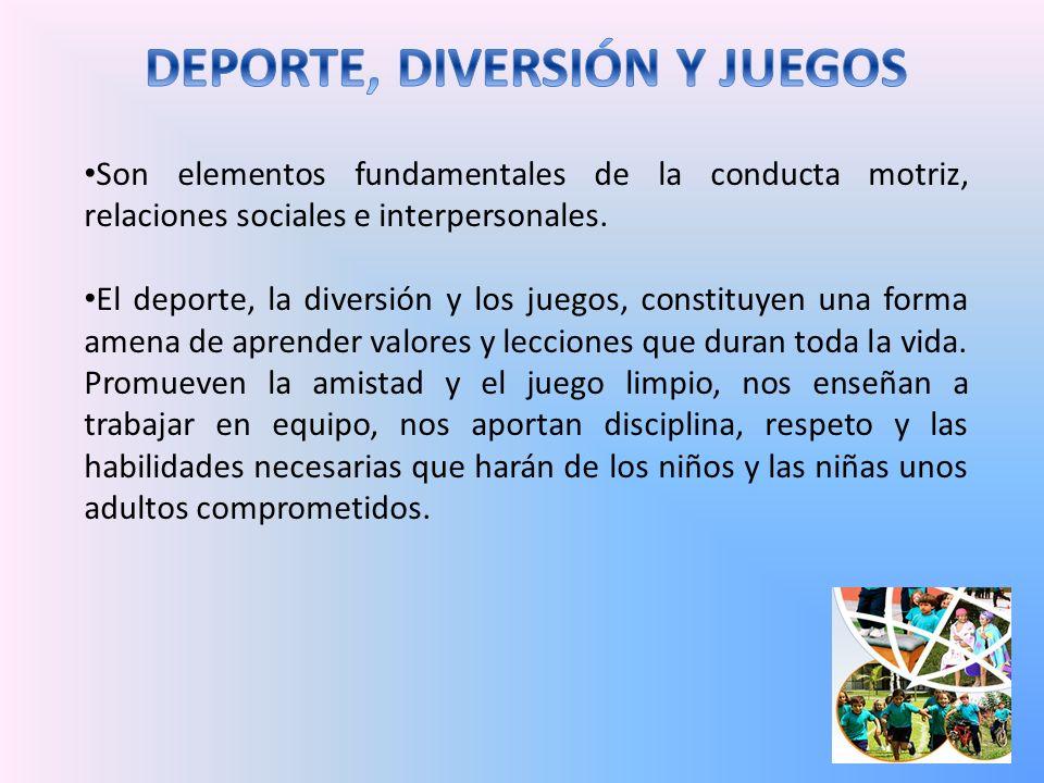 DEPORTE, DIVERSIÓN Y JUEGOS