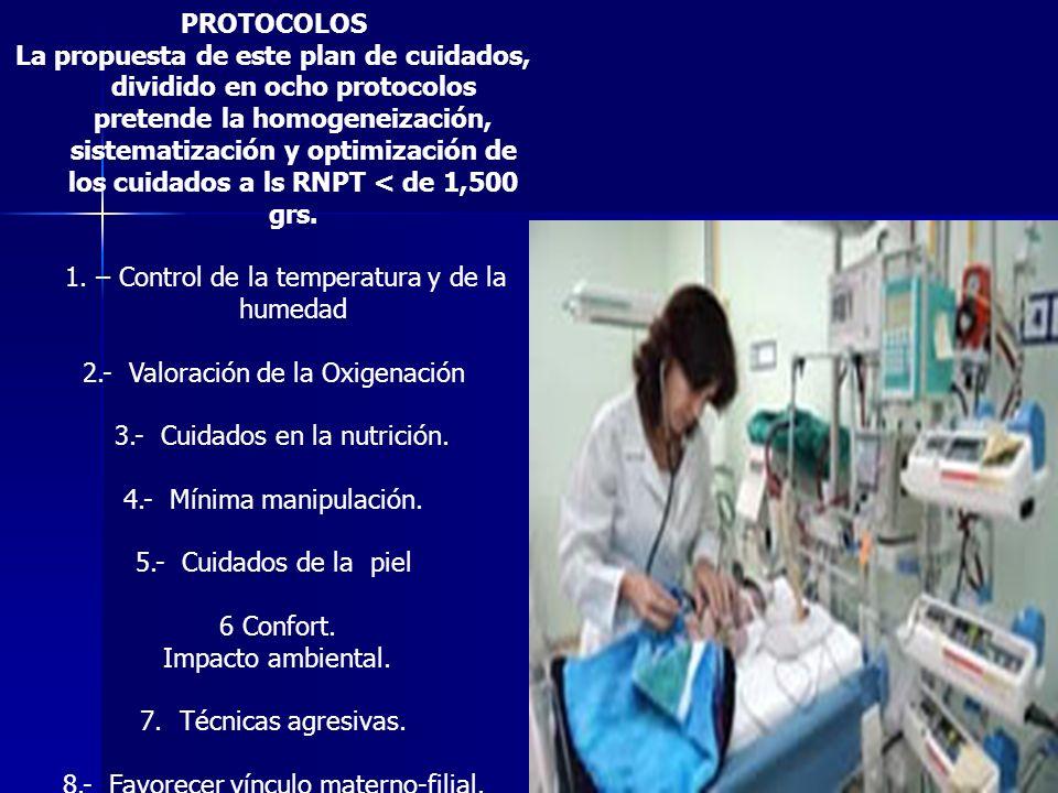 1. – Control de la temperatura y de la humedad