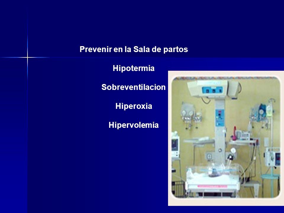 Prevenir en la Sala de partos