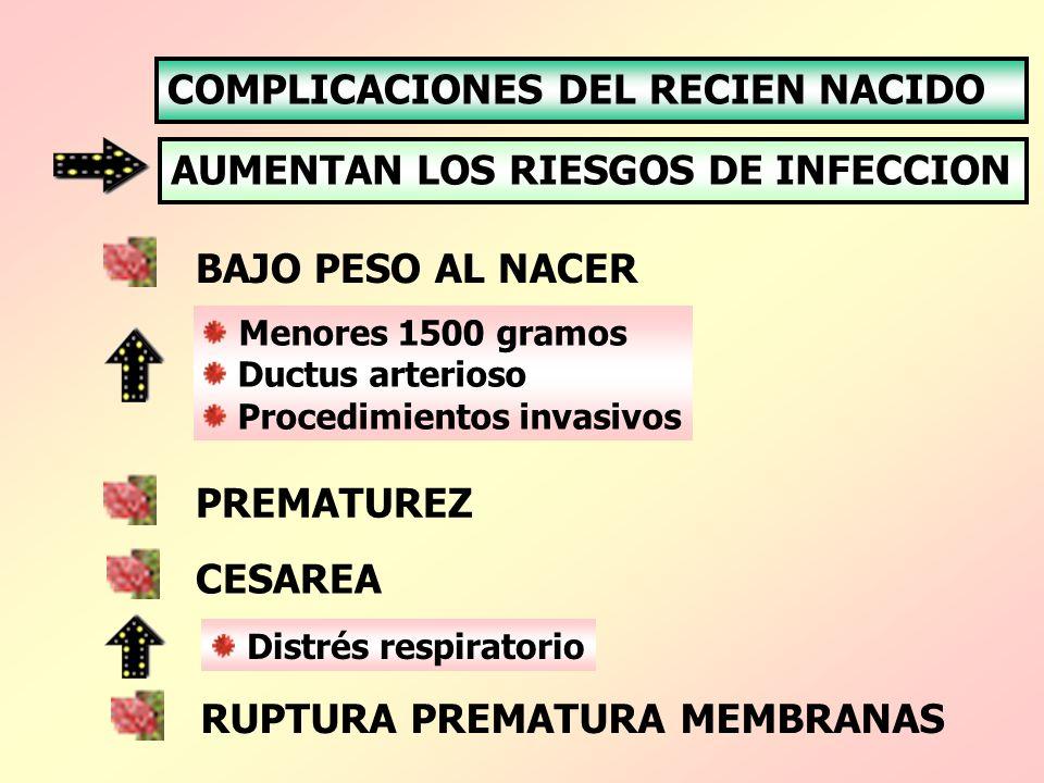 COMPLICACIONES DEL RECIEN NACIDO