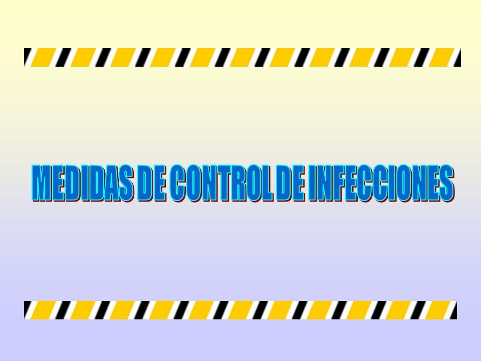 MEDIDAS DE CONTROL DE INFECCIONES