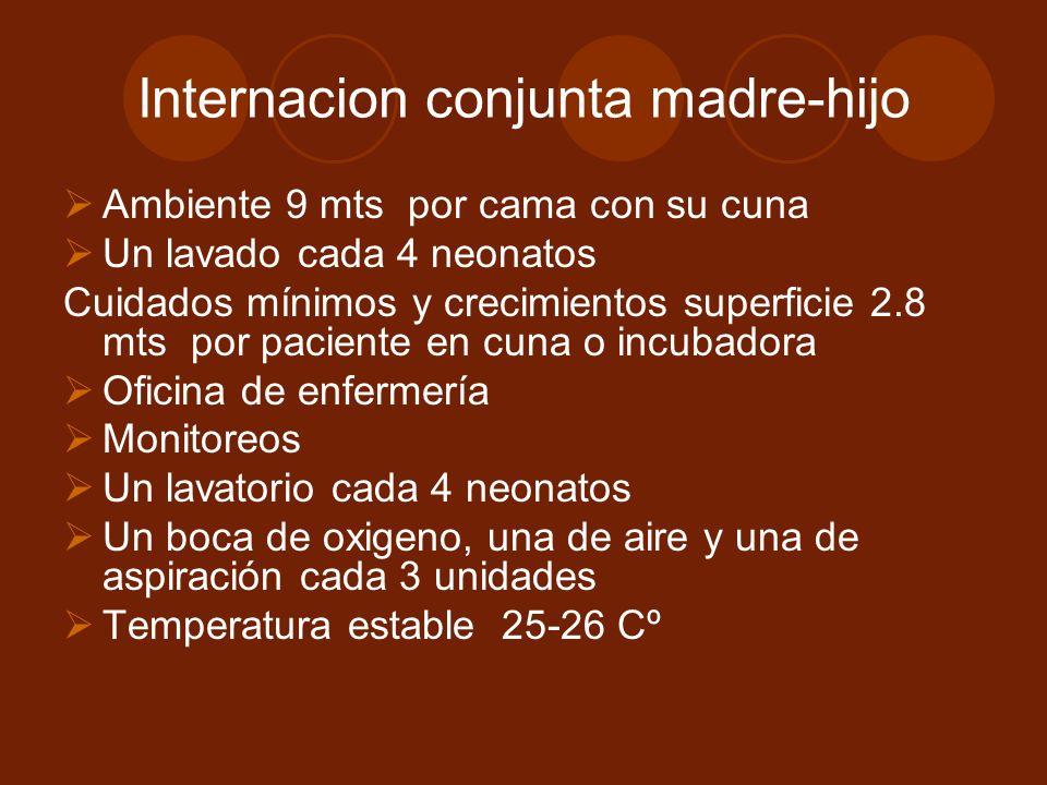 Internacion conjunta madre-hijo