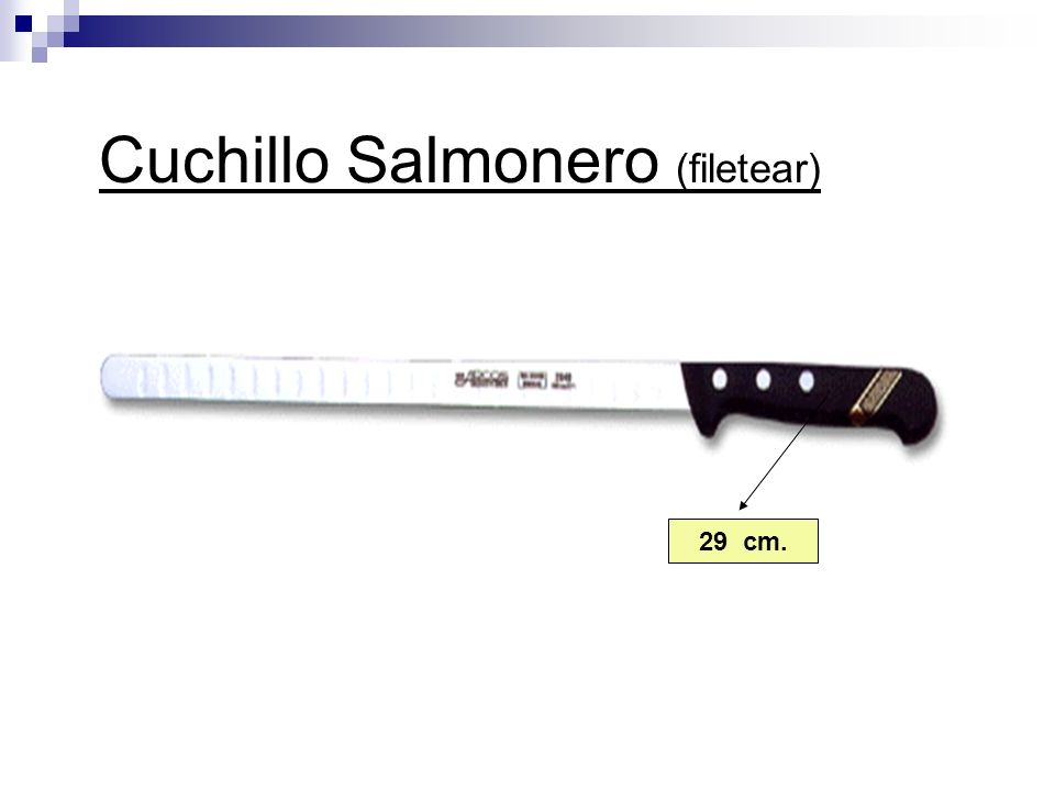 Cuchillo Salmonero (filetear)