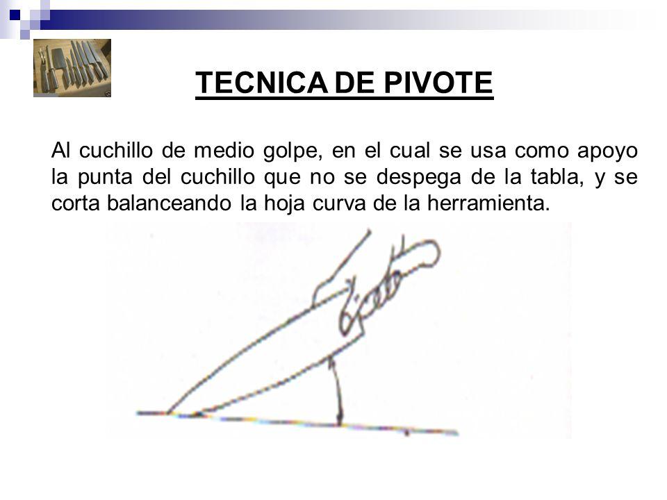 TECNICA DE PIVOTE