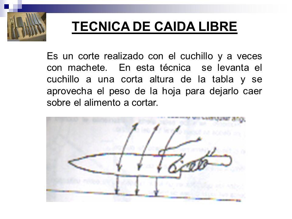 TECNICA DE CAIDA LIBRE