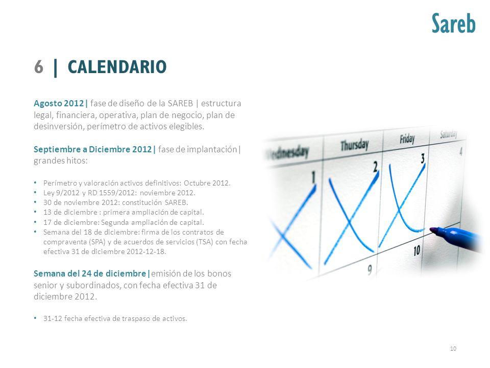 6 | CALENDARIO