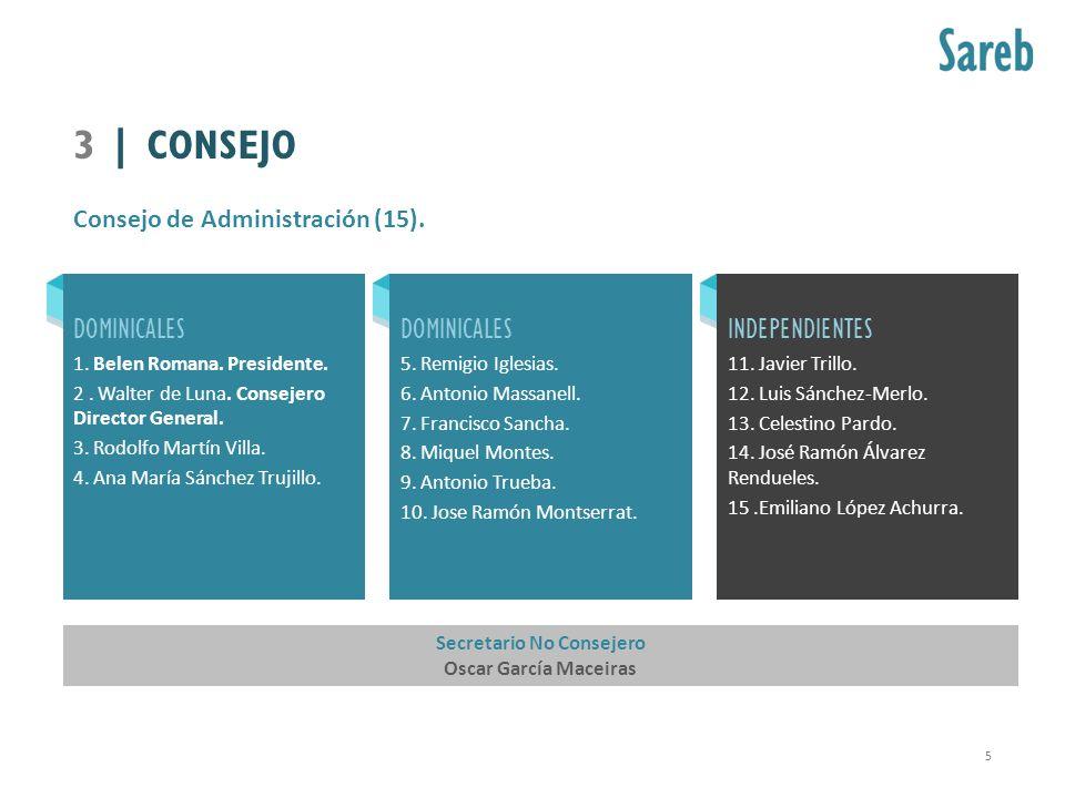 Consejo de Administración (15).
