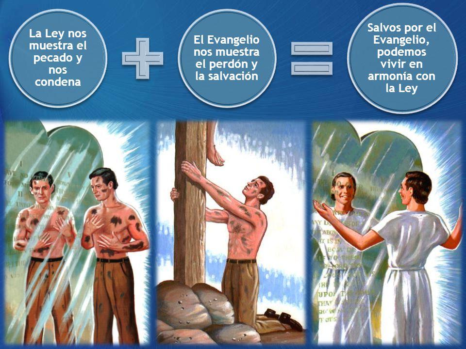 La Ley nos muestra el pecado y nos condena